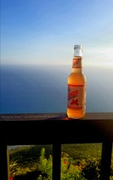 What's better than a beer, beau and good view?