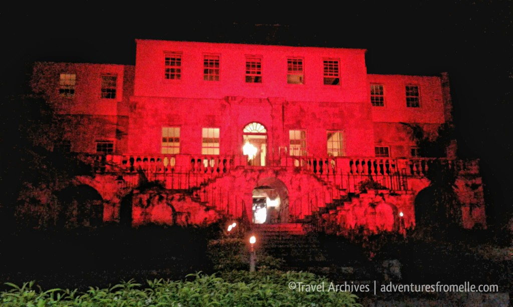 rose hall great house at night