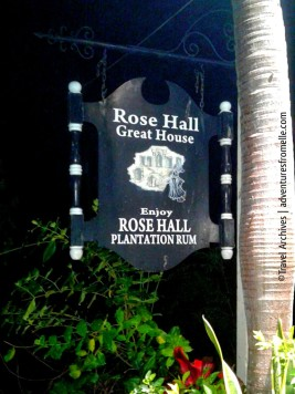 rose hall great house sign
