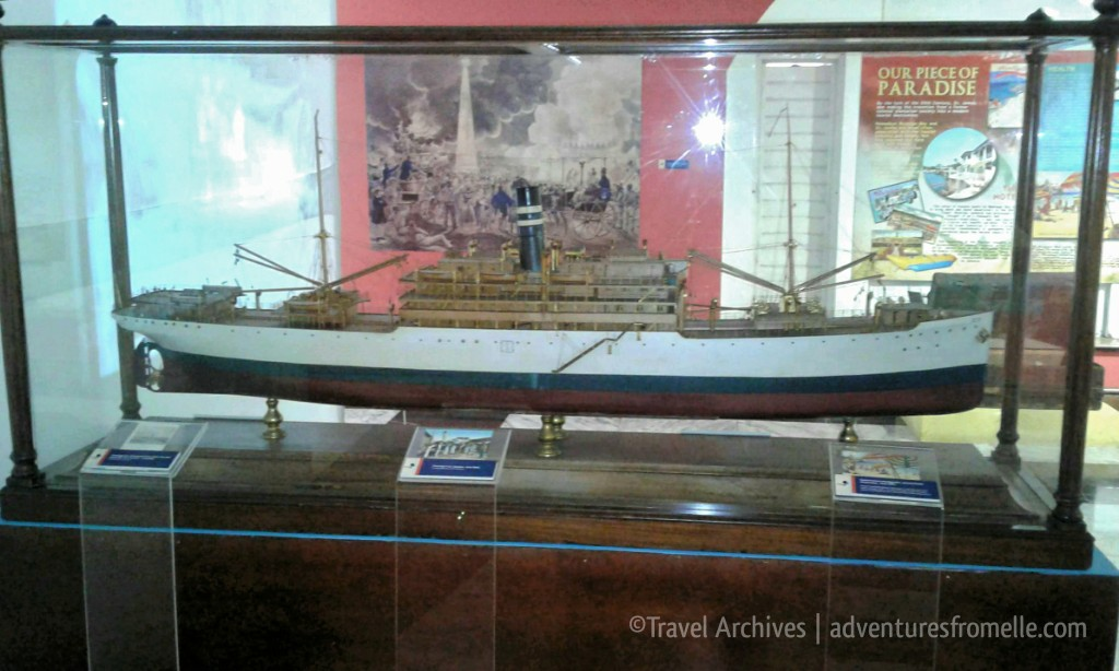 ship replica-national museum west