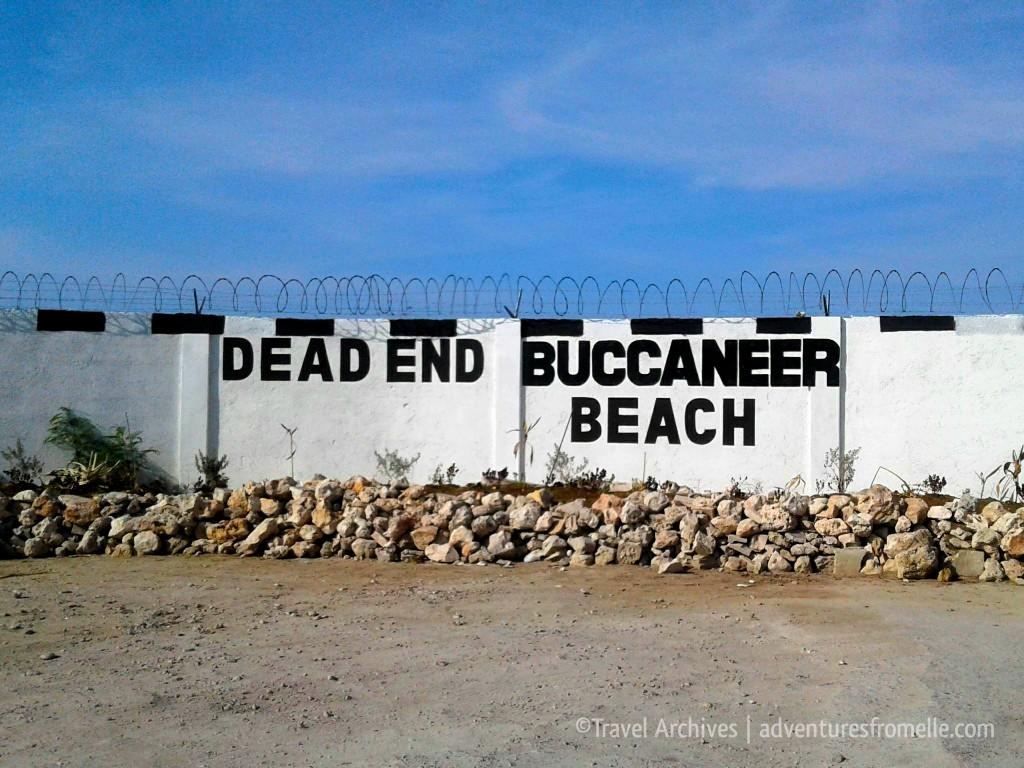 dead end buccaneer beach