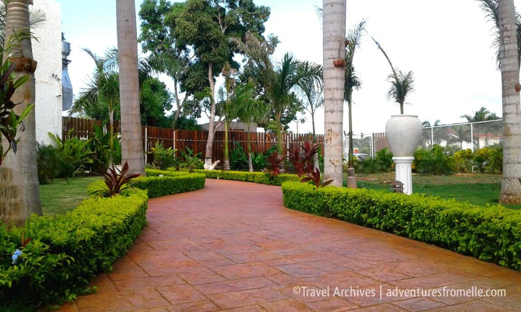 paved walkway-puerto seco beach