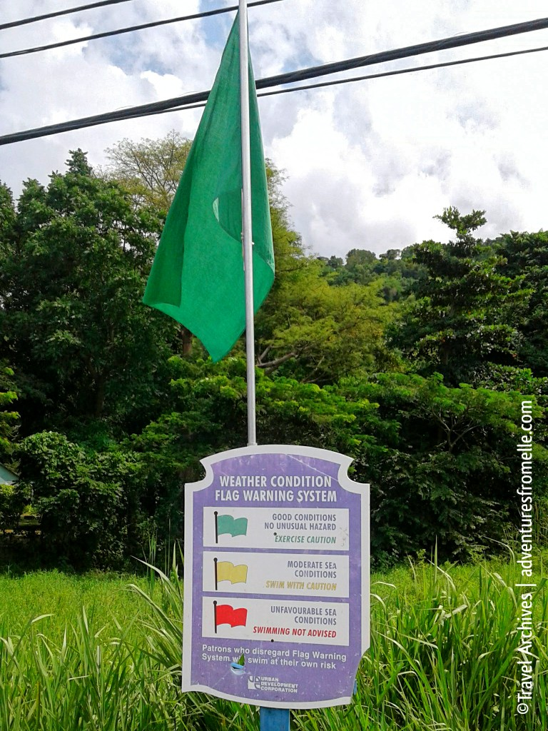 good weather conditions flag