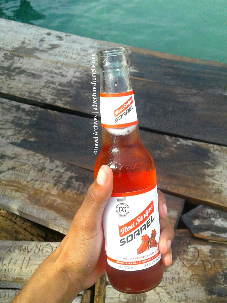 pelican bar-sorrel beer