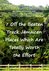 Off the beaten track jamaica