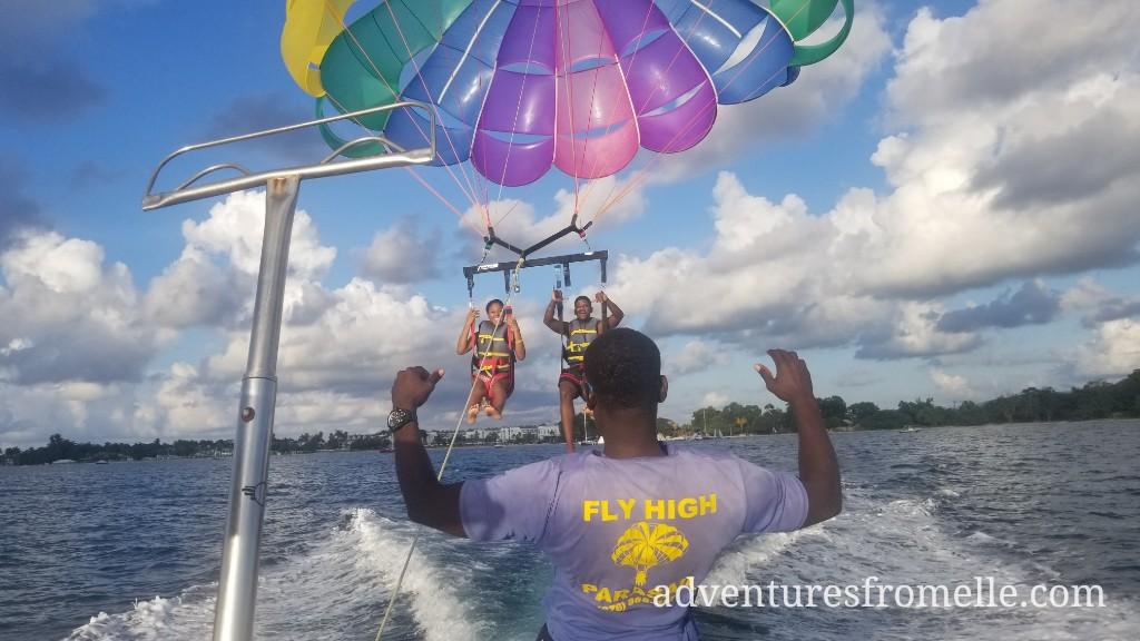 fly high parasailing