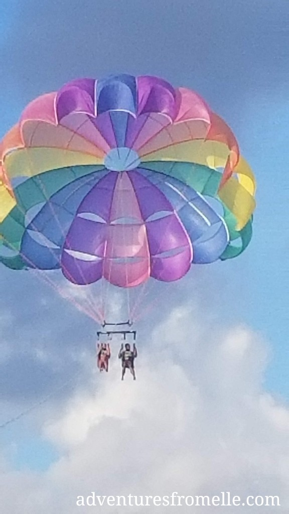 parasailing at negril