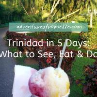 Trinidad in 5 Days: What to See, Eat & Do