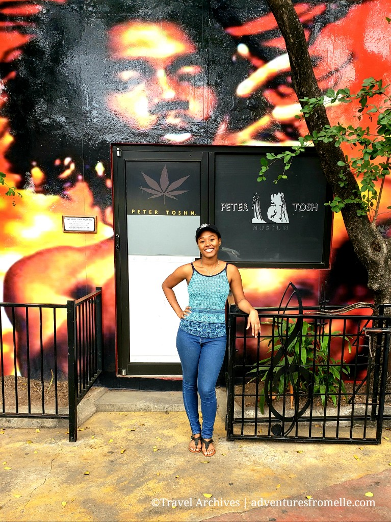 elle at peter tosh museum
