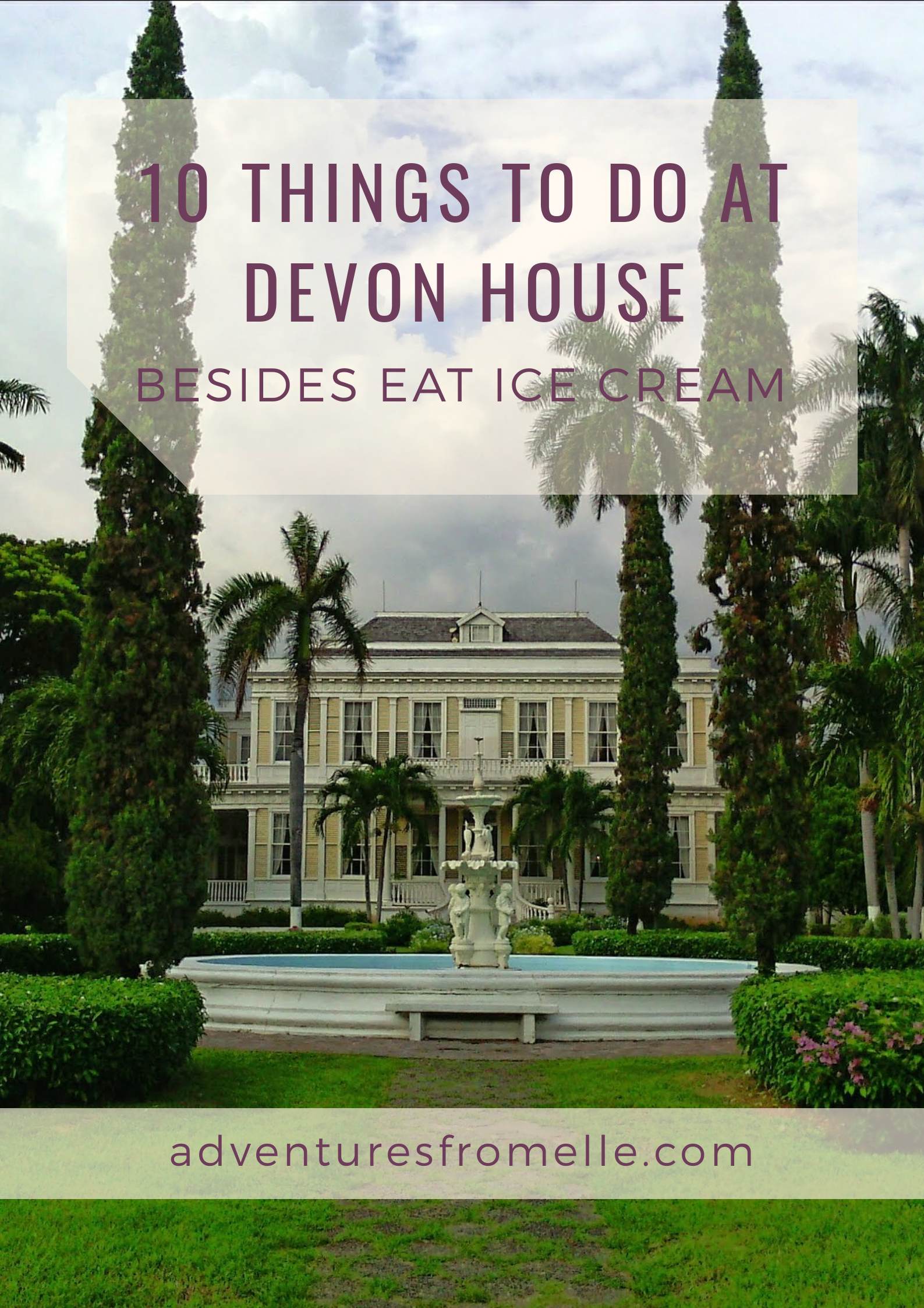 Ten things to do at Devon house